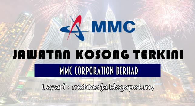 Jawatan Kosong Terkini 2016 di MMC Corporation Berhad