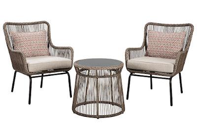 resin wicker outdoor seating