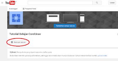 Cara membuat 10 saluran (channel) youtube dalam 1 akun
