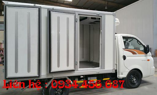 Xe đông lạnh Porter hạ tải 990kg