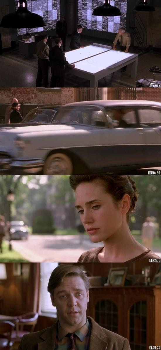 A Beautiful Mind 2001 BRRip 720p 480p Dual Audio Hindi English Full Movie Download
