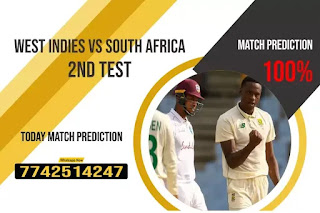 WI vs SA Dream11 Team Prediction, Fantasy Cricket Tips & Playing 11 Updates for Today's South Africa tour of West Indies Test 2021 - 18 Jun 2021, 7.30 PM