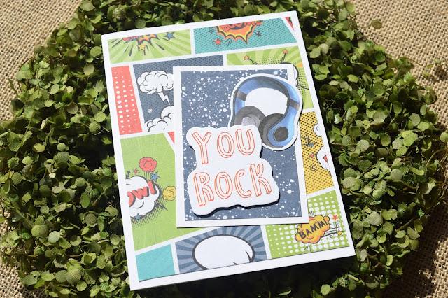 Teen Boy Card with Fabrika Decoru Cool Teens Kit