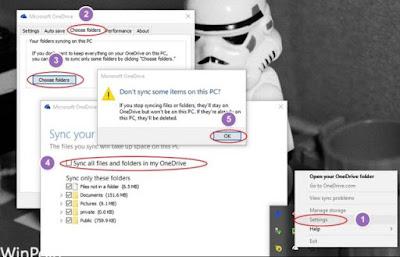 Matikan Sinkronisasi OneDrive