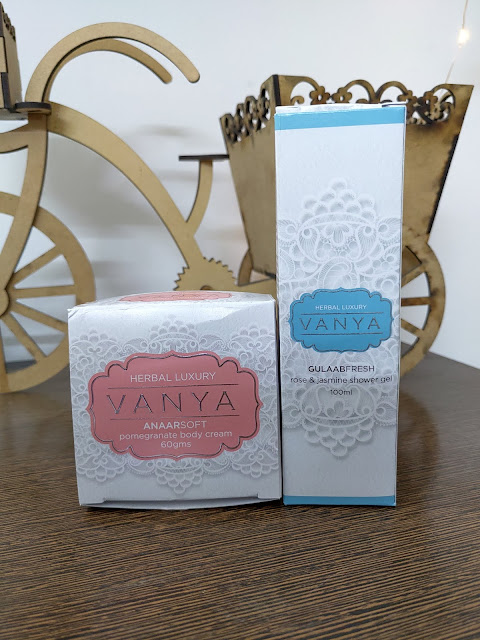 My Latest Herbal Luxury Products from VANYA