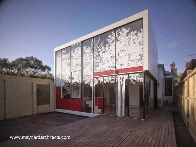 Casa contemporánea minimalista en Melbourne, Australia