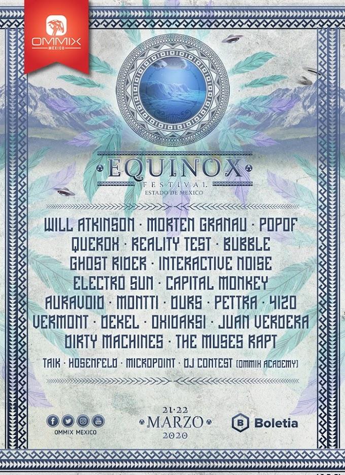 Festival Equinox 2020 Line Up y Boletos