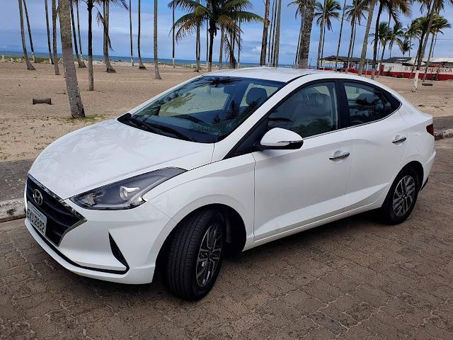 Novo Hyundai HB20S (Sedã) 2020 - Branco