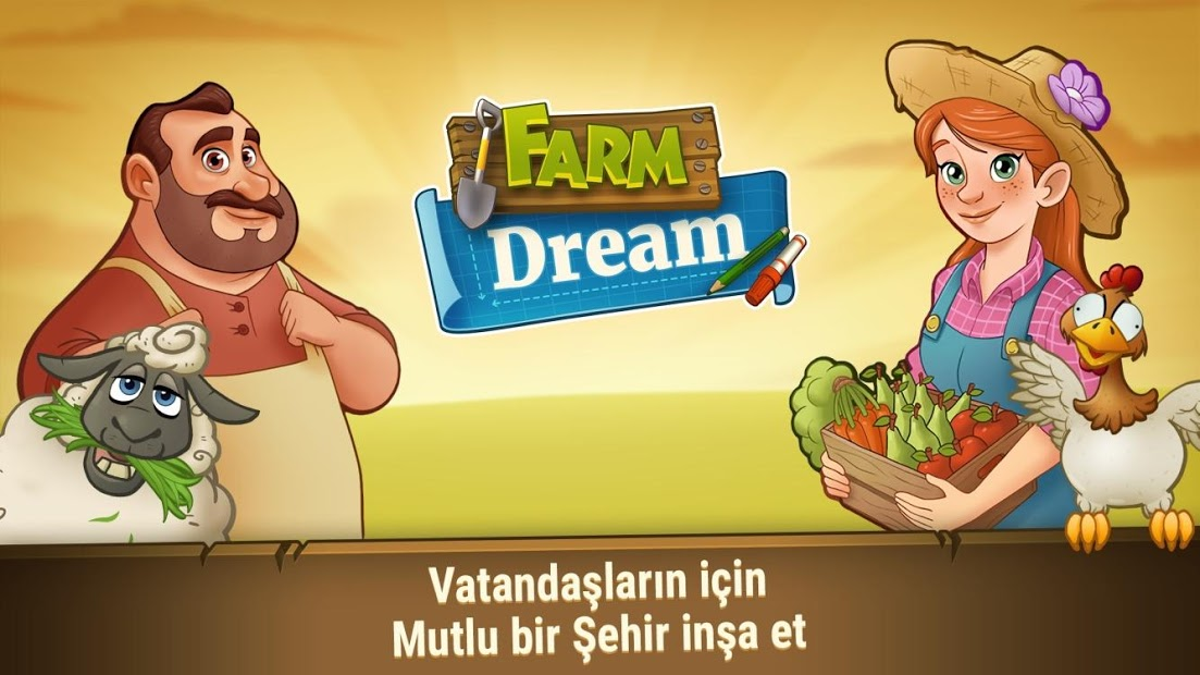 Farm Dream Hileli Apk - Para Elmas Hileli Apk