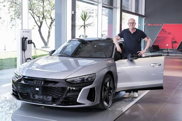Audi entrega primeiros e-tron GT RS para os compradores