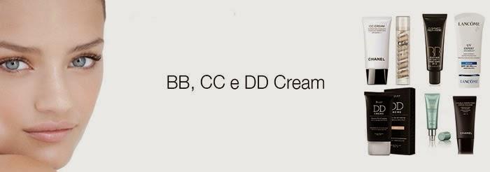 BB Cream, CC Cream e DD Cream - O que é isso?