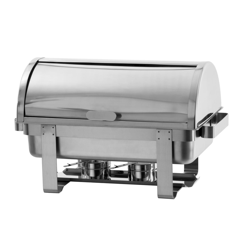 chafing dish combustibil profesional horeca cu capac rolltop