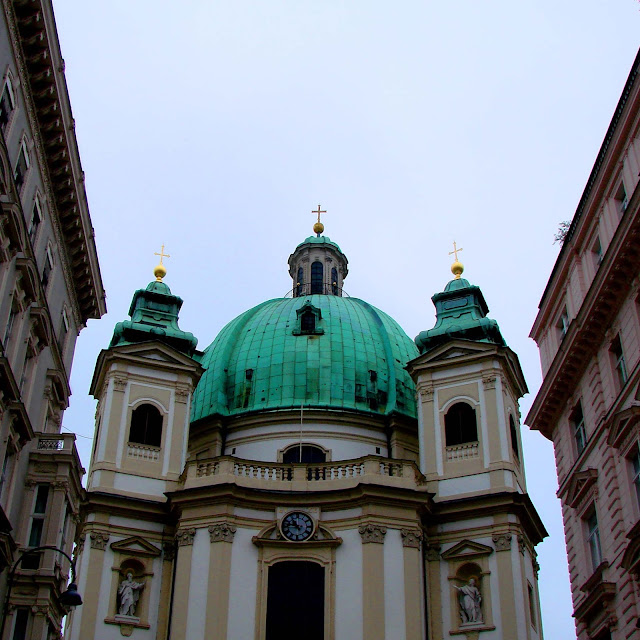 photo st. peter's kirche vienna