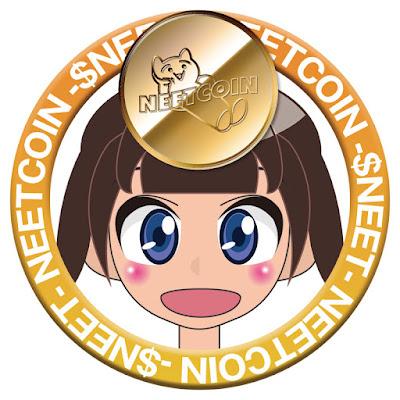 NEETCOIN(ニートコイン)応援リング女の子