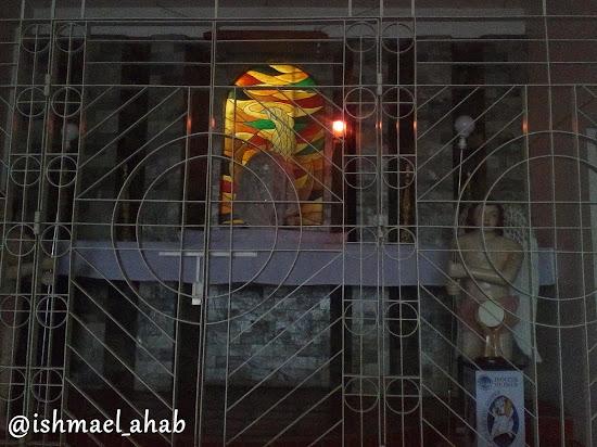 Tabernacle of Holy Cross Church in Noveleta, Cavite