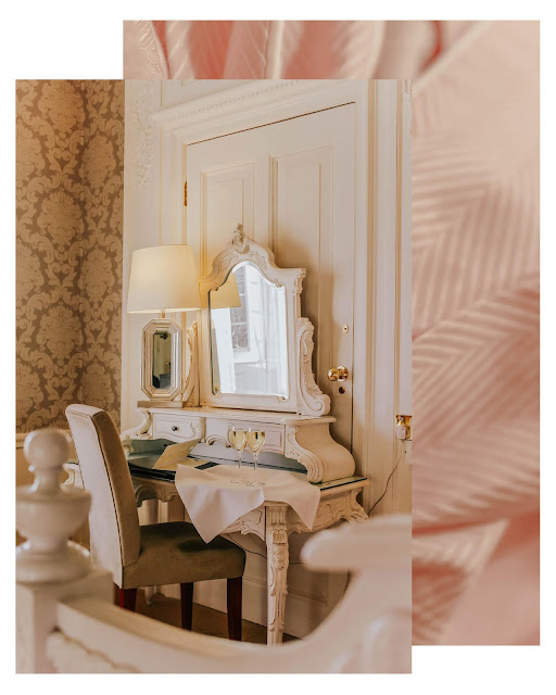 hotel princess cream dressing table