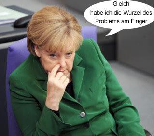 Angela Merkel peinlich