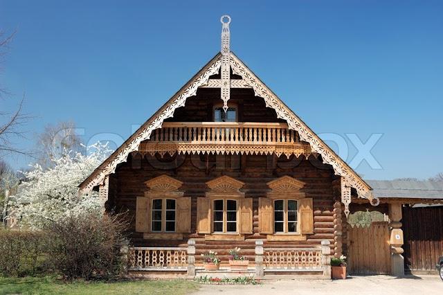 บ้านไม้สนรัสเซีย