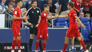 تألق لاعب فريق بايرن ميونخ في امام فريق هيرتا في بطولة الدوري الالماني