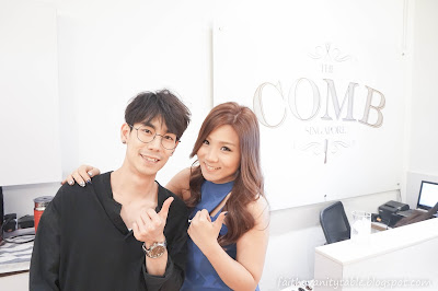Singapore Top Celebrity Blogger with Korean boyfriend
