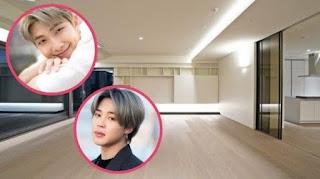 10 Penampakan Apartemen Mewah RM dan Jimin BTS Yang Berharga 81 Milyar