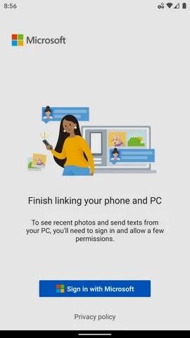 صورة Sign in with Microsoft