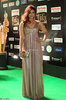 Telugu Actress Aarthi in Deep Neck Backless Golden Gown at IIFA Utsavam Awards 2017 Exclusive 30.JPG