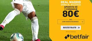 betfair supercuota Real Madrid v Atletico 12-1-2020
