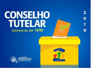 CMDCA de Registro-SP abre inscrições para candidatos a Conselheiros Tutelares