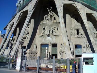 www.viajaportodoelmundo.com  Iglesia de la Sagrada Familia Barcelona