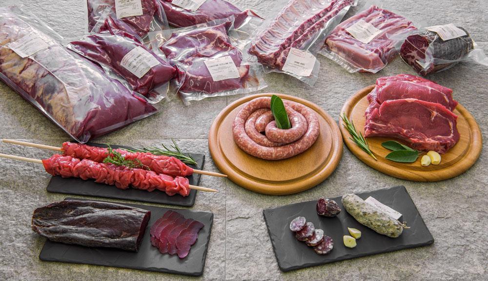 Bio-Lüganiga und andere Fleischspezialitäten