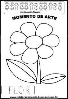 Projeto Pátria, desenho de flor