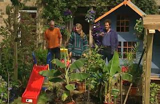 Monty Don Adam & Katie & family.