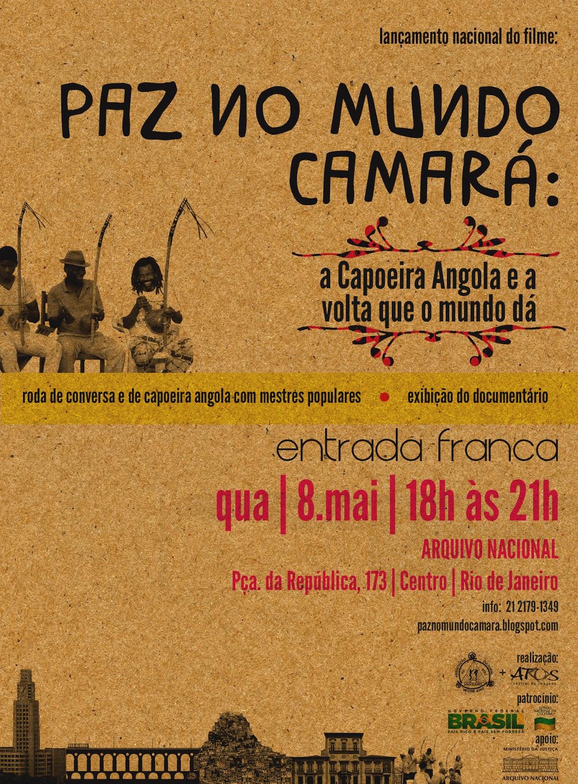 Poster do filme Mundo Camará: A Capoeira Angola e a Volta Que o ...