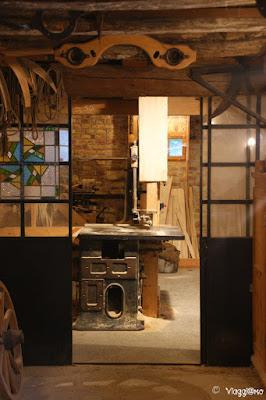 Laboratorio di Falegnameria all'Ecomuseo d'Alsazia