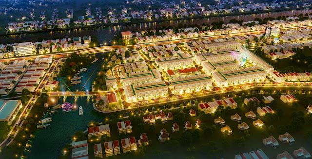 Các khu dân cư mới tại Thoại Sơn năm 2021