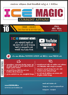 March 2020 Current Affairs By ICE Rajkot
