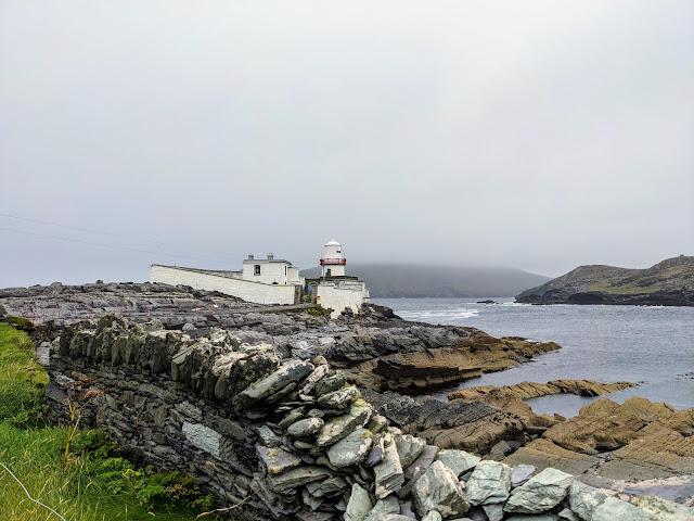 Valentia Island lighthouse in Ireland