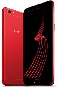 Oppo F5 64GB smartphone comes in Black, Red colours.