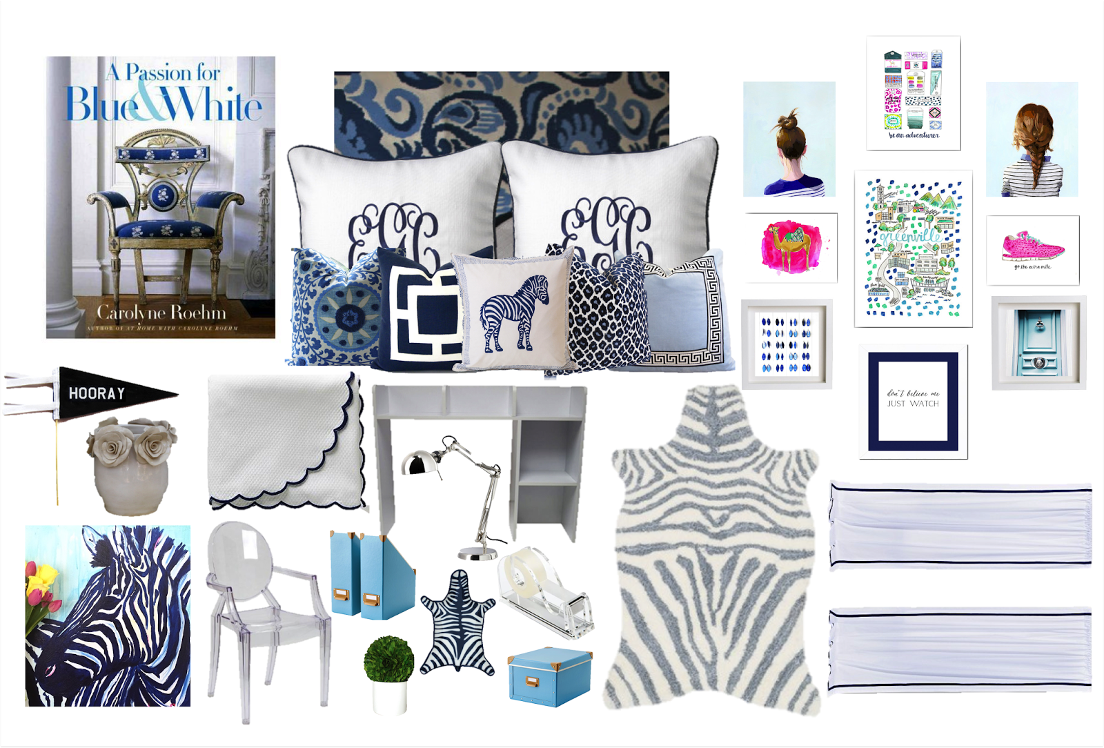 ... Things Will Look Together. It May Seem A Bit Overwhelming Put Together  On This Design Board But Once Spread Out Into My Room Hopefully It Will  Become My ...