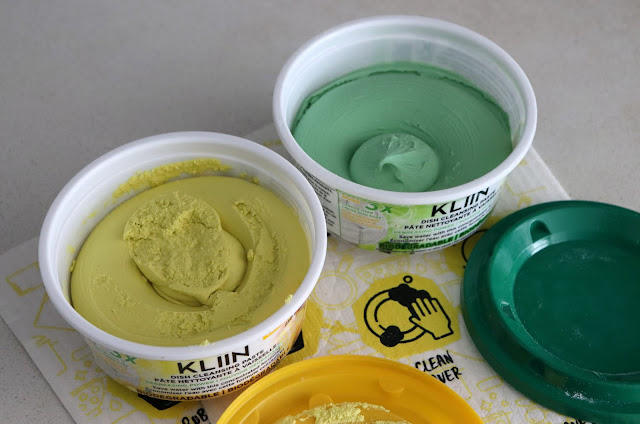 Eco-friendly dish cleansing paste from KLIIN