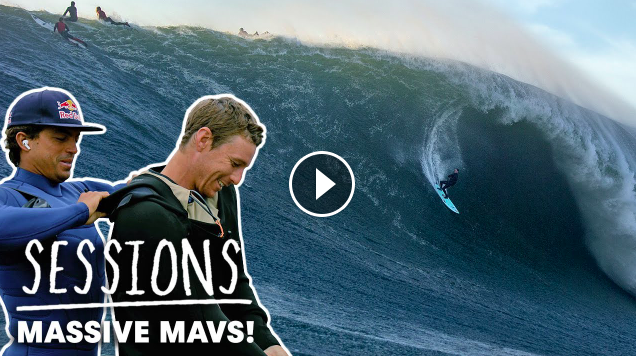 Mavericks Wakes Up And Goes XXL For The World s Best Big Wave Surfers Sessions