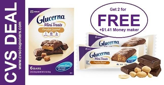 FREE Glucerna Mini Treats CVS Deal 98-914