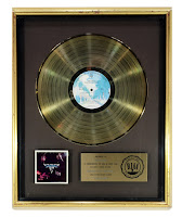 Van Halen 1978 Debut Album RIAA Record Award