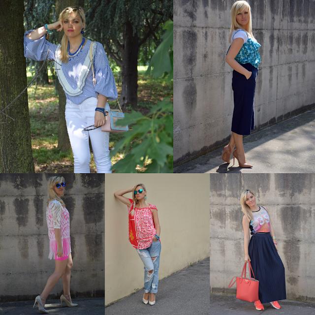 recap outfit giugno 2017 mariafelicia magno fashion blog italiani fashion blogger italiane blogger italiane di moda
