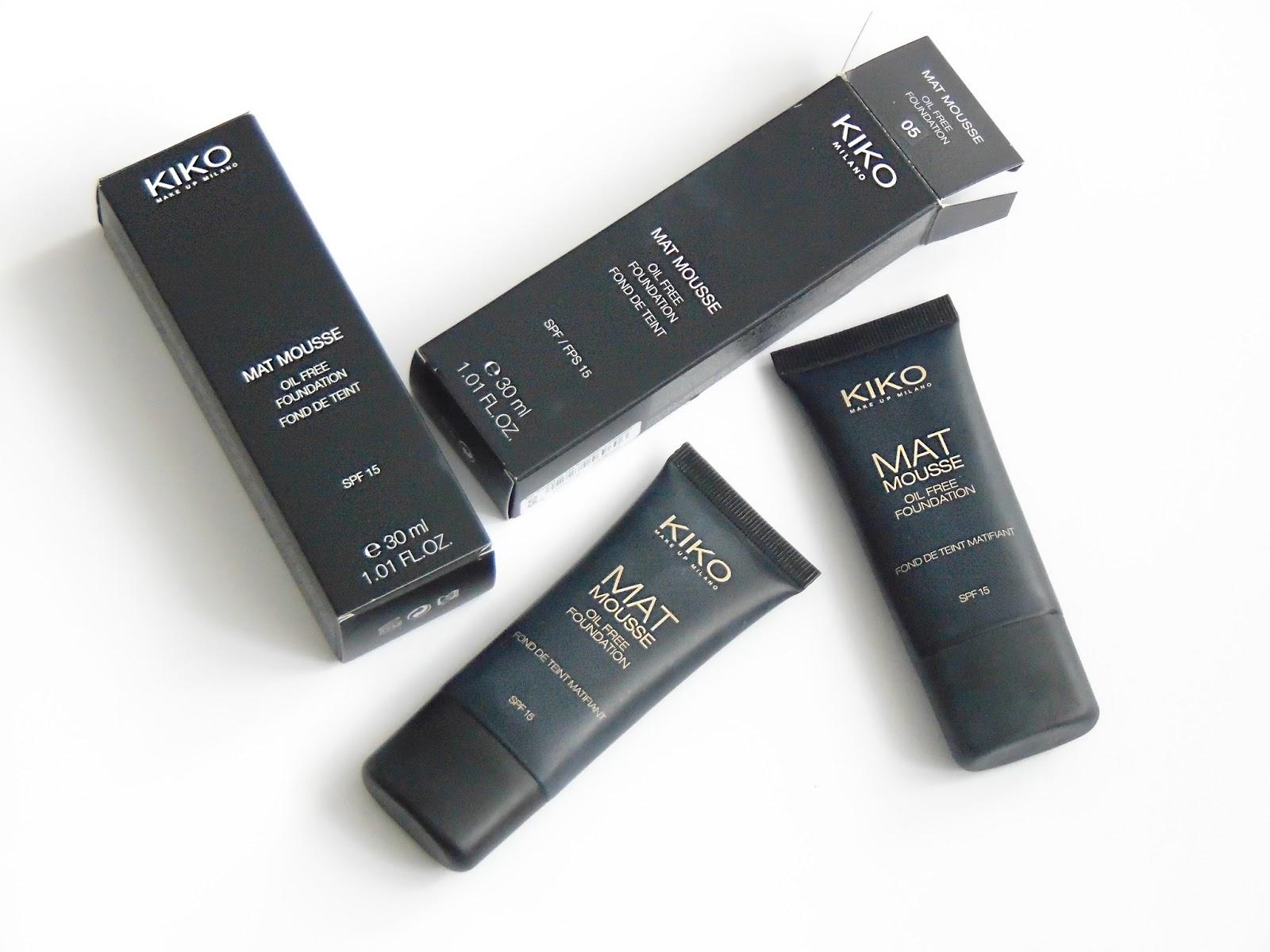 Koszmarne kosmetyki I – matujący podkład z Kiko
