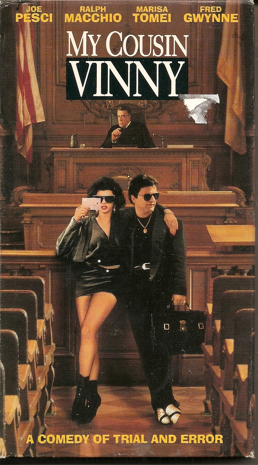 legal procedures my cousin vinny From atticus to vinny, your favorite movies about the law so my legal movie of choice is 'my cousin vinny' 'my cousin vinny' does our profession a favor by.