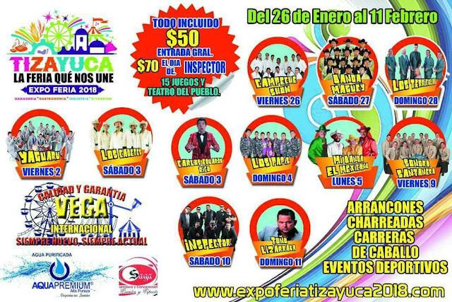 expo feria tizayuca 2018