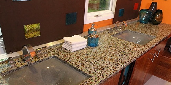 types of kitchen countertops material