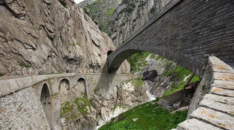 Teufelsbrücke, el Puente del Diablo